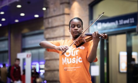 Aseye Olympio is a violin student at the Royal College of Music.