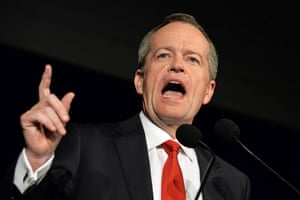 "Shorten is the first to address his party, and the public. ""We will not know the outcome of this election tonight,"" he says. ""Indeed, we may not know it for some days to come. But there is one thing for sure – the Labor party is back. Three years after the Liberals came to power in a landslide, they have lost their mandate."""