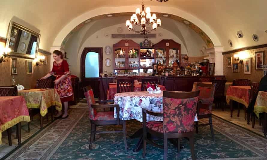 Pyatkin restaurant.