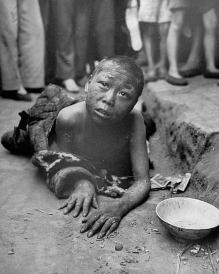 A child in 1946 during the Chinese famine last lasted from 1958-61.