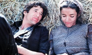 Richard Gere and Brooke Adams in Days of Heaven, 1978