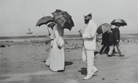 Cousin Caro and Mr Planteigne Willerville, 1906