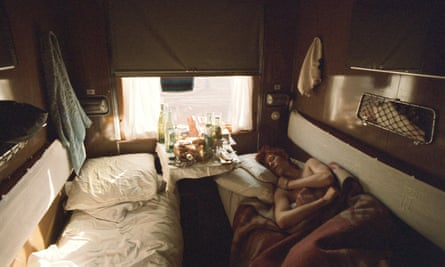 David Bowie on the Trans-Siberian Express, 1973.