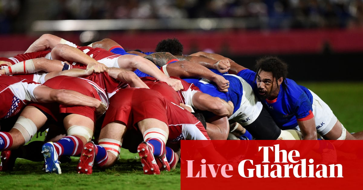 Russia v Samoa: Rugby World Cup 2019 – live!