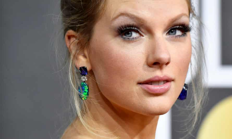 On an ambitious reissue programme … Taylor Swift.