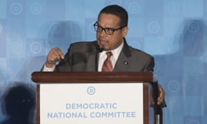 Keith Ellison, who narrowly lost the vote but was named deputy chair, made an appeal for unity.