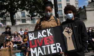 Black Lives Matter protest central London