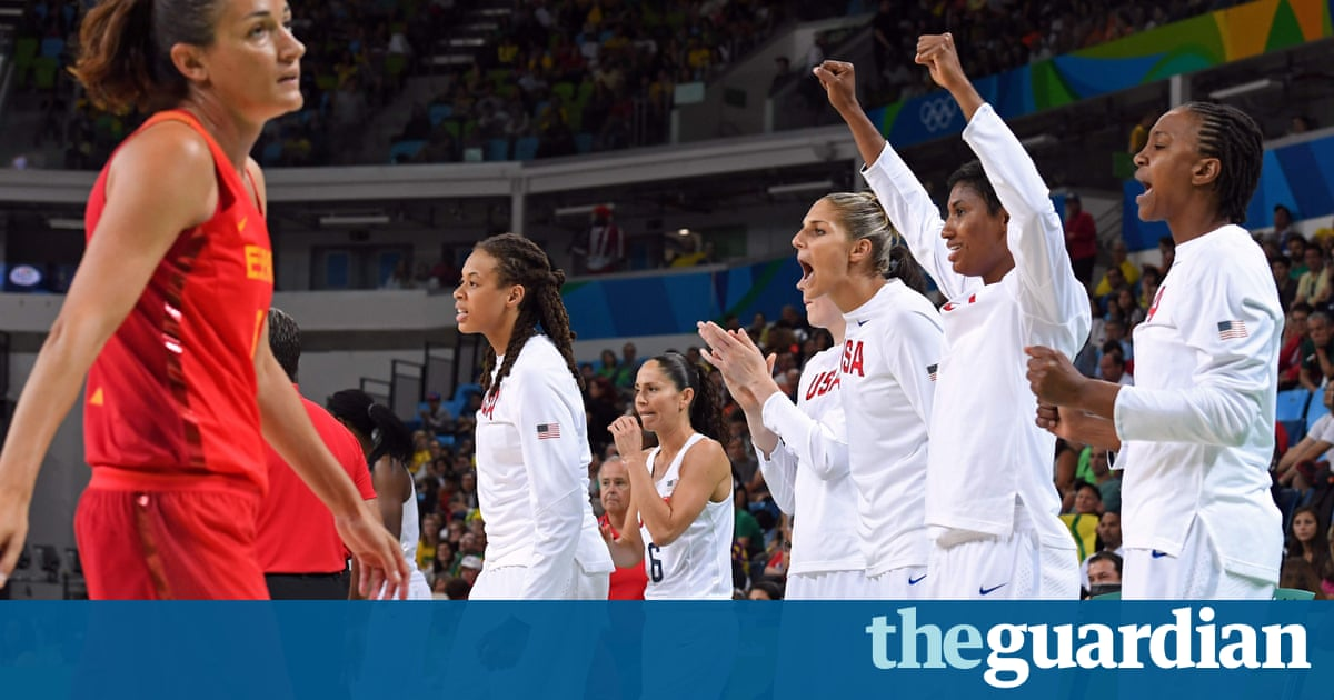 Women's Olympic basketball final: USA beat Spain to win gold medal – as it happened!