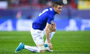 Leicester, with the line led by Jamie Vardy, failed to register a single shot on target in the first leg against Atlético Madrid.