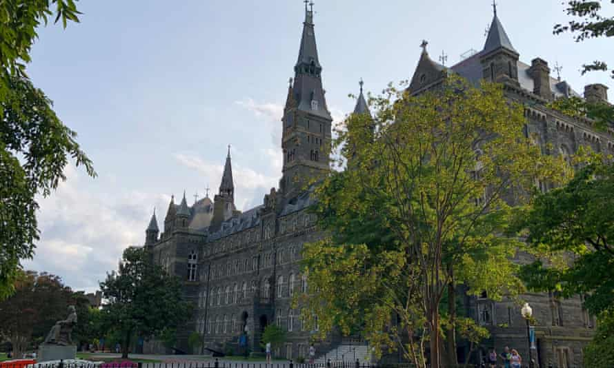 Georgetown University paid off college debts with money raised by its Jesuit founders in 1838 by selling enslaved people from Maryland plantations.
