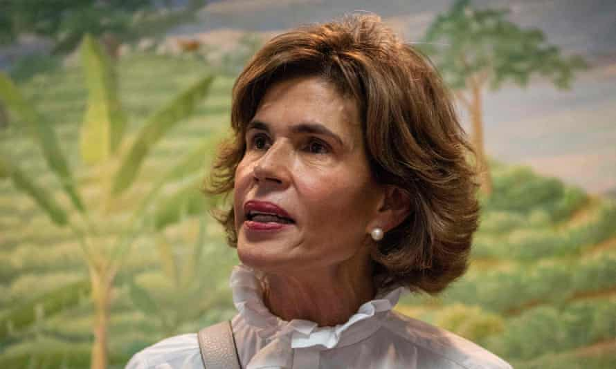 Christiana Chamorro, πρώην σκηνοθέτης της Violeta Barrios de Chamorro.