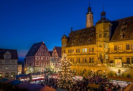 Reiterlesmarkt, Christmas Market in Rothenburg ob der Tauber