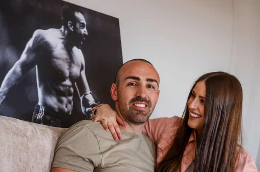 José Enrique his wife, Amy. 'She's my everything: I already thought so but even more so after this.'
