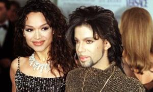Prince, with Mayte Garcia.