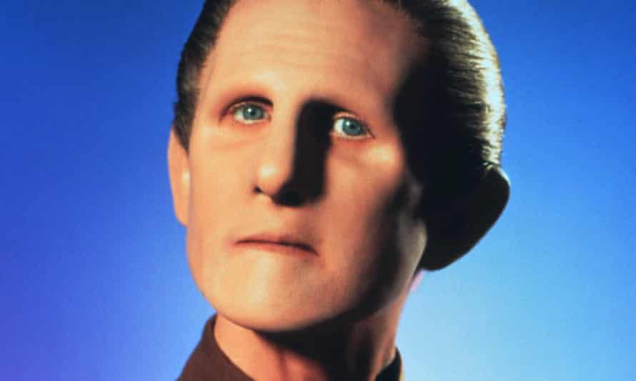 René Auberjonois as Odo in Star Trek: Deep Space Nine, 1993.