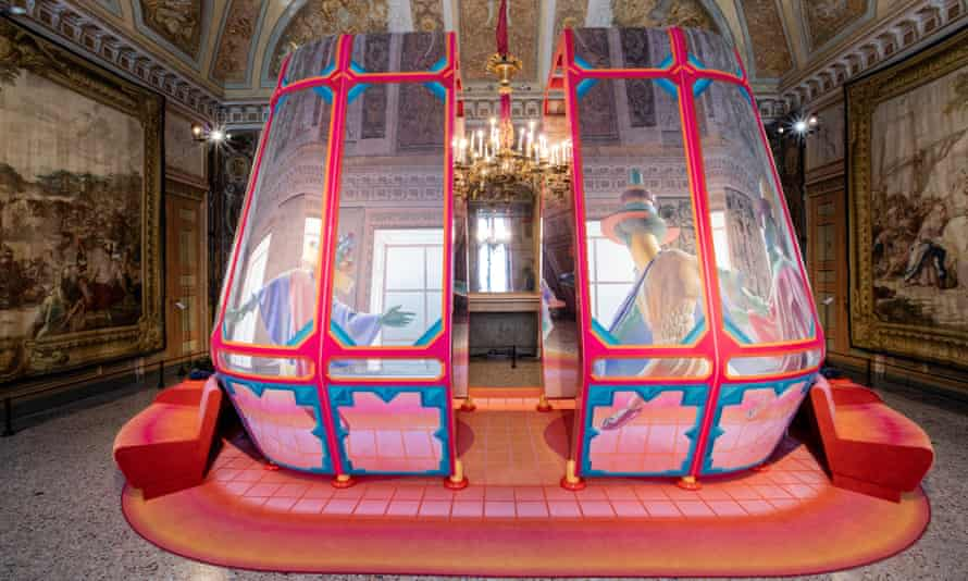 Space Popular's Wardian Case, seen here in Milan. Part of the exhibition De/Coding commissioned by Alcantara.