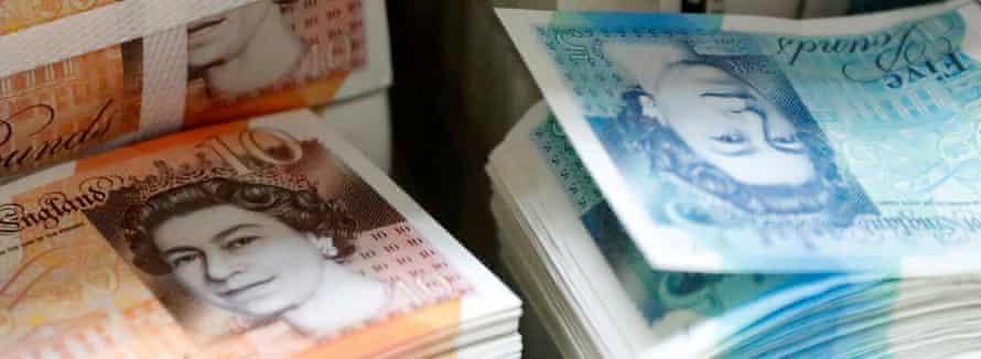 British pound sterling banknotes