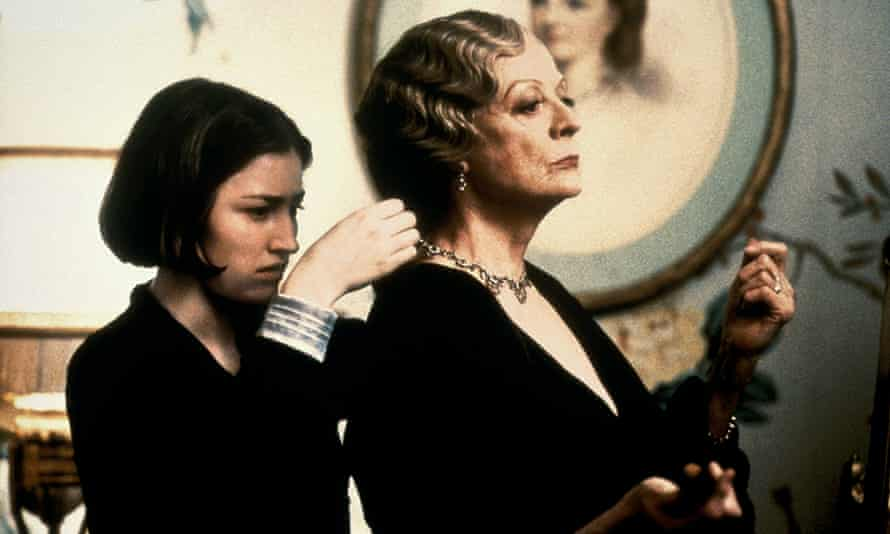 As Maggie Smith's maid in Gosford Park.