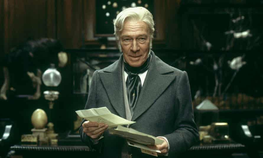 Christopher Plummer as Ralph Nickleby in Douglas McGrath's film version of Nicholas Nickleby, 2002.
