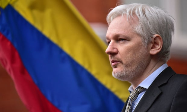 Ecuador cuts off Julian Assange's internet access at London embassy | Media | The Guardian