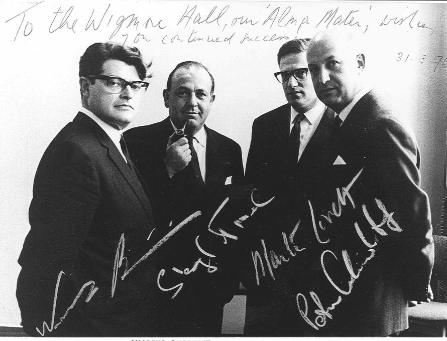 Amadeus Quartet in 1976