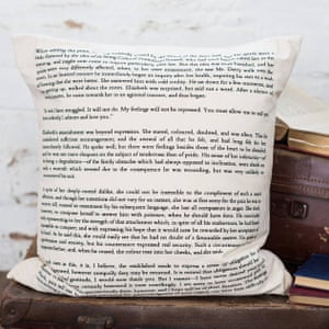 Darcy's proposal cushion