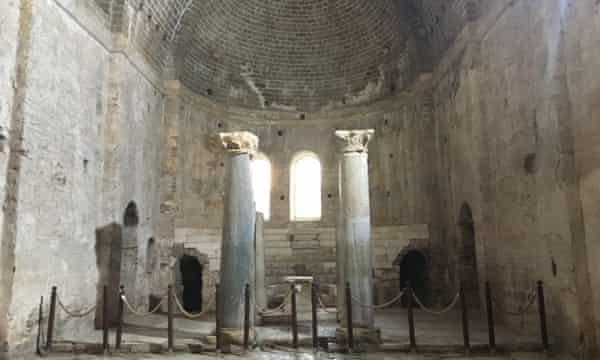 The St Nicholas Church in Demre, Turkey