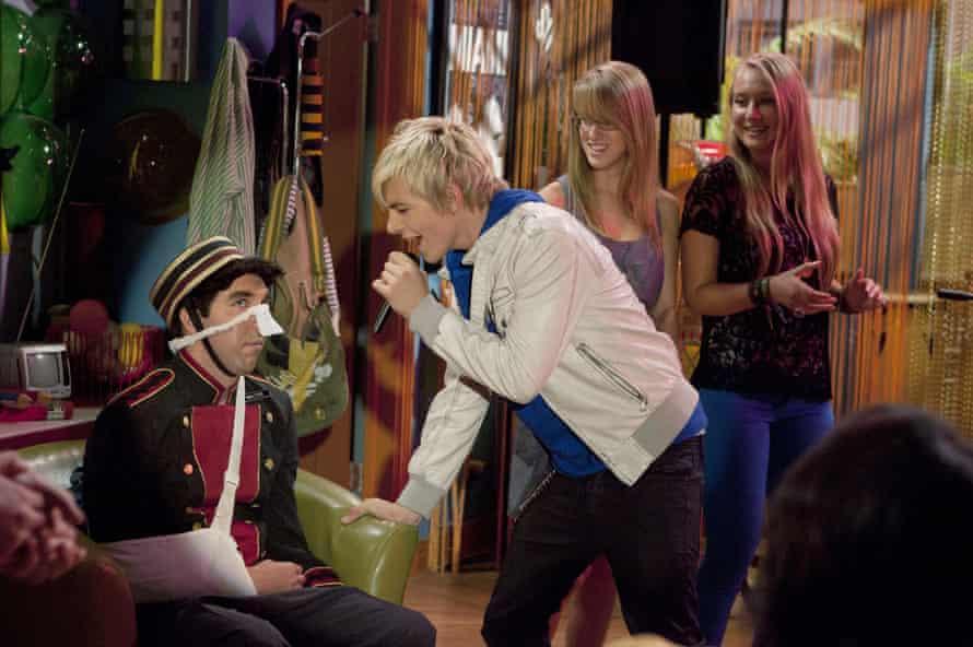 Ross Lynch in Disney's Austin & Ally in 2011