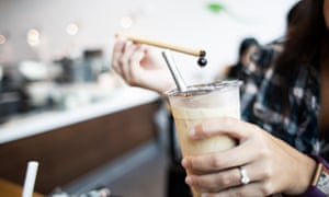 When bamboo straws soak for too long in warm liquid, they taste like dirty water.