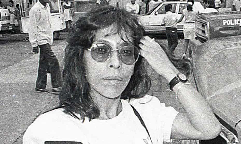 Regina Martínez, who was murdered in 2012, pictured in 1992.