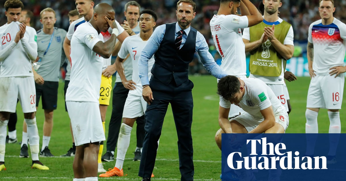 3bd1a77e872 England's World Cup dream dashed as Croatia win semi-final in extra ...