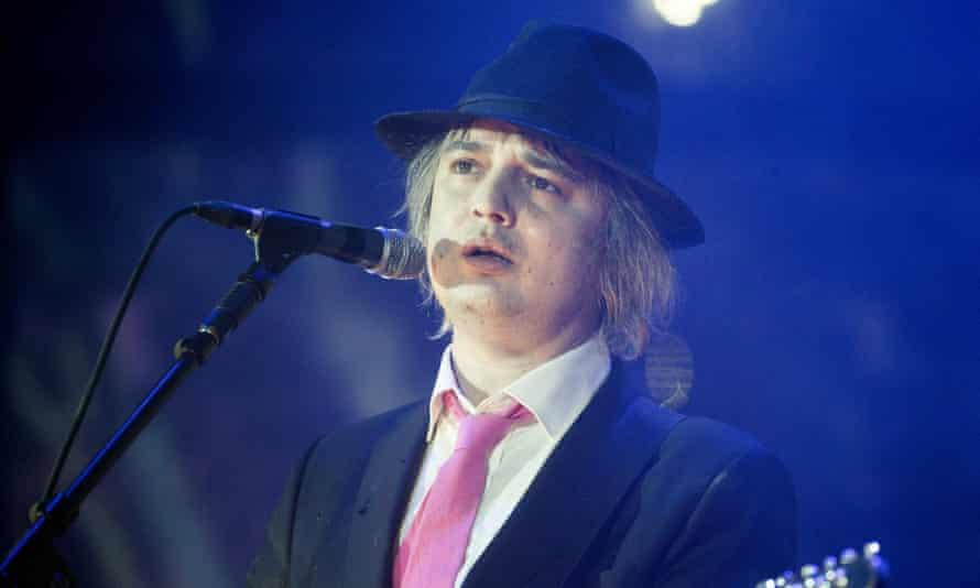 Pete Doherty performing in 2016.