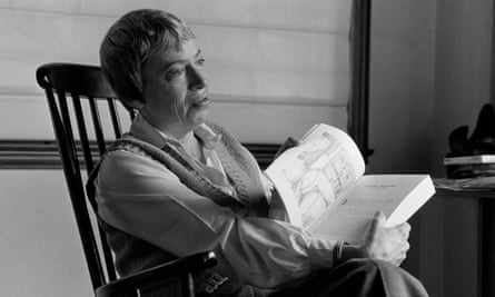Ursula Le Guin during an interview in San Francisco in 1985.