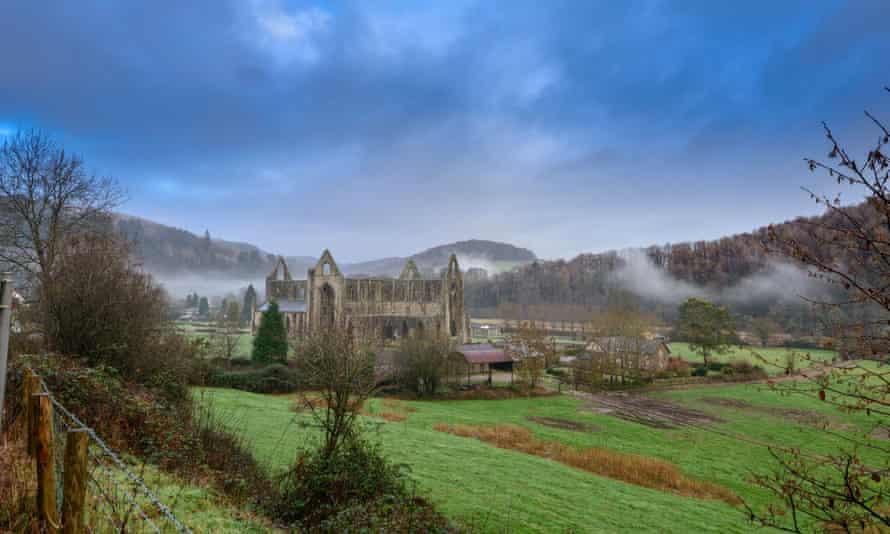 Tintern Abbey, Wales.
