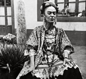 Frida in the Casa Azul, circa 1952. She died two years later at the age of 47