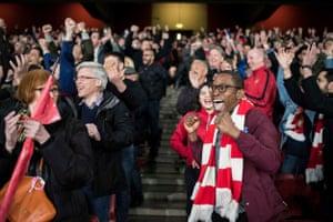 26 April 2018, Europa League: Arsenal 1-1 Atletico Madrid.