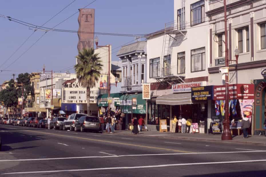 San Francisco,'s Mission district.