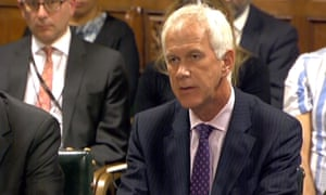 Sir Philip Dilley told MPs: 'In hindsight it would have been much better if I had come back as early as I could [from a Barbados holiday during the floods].'