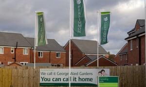 A Persimmon Homes development in Melksham, Wiltshire.