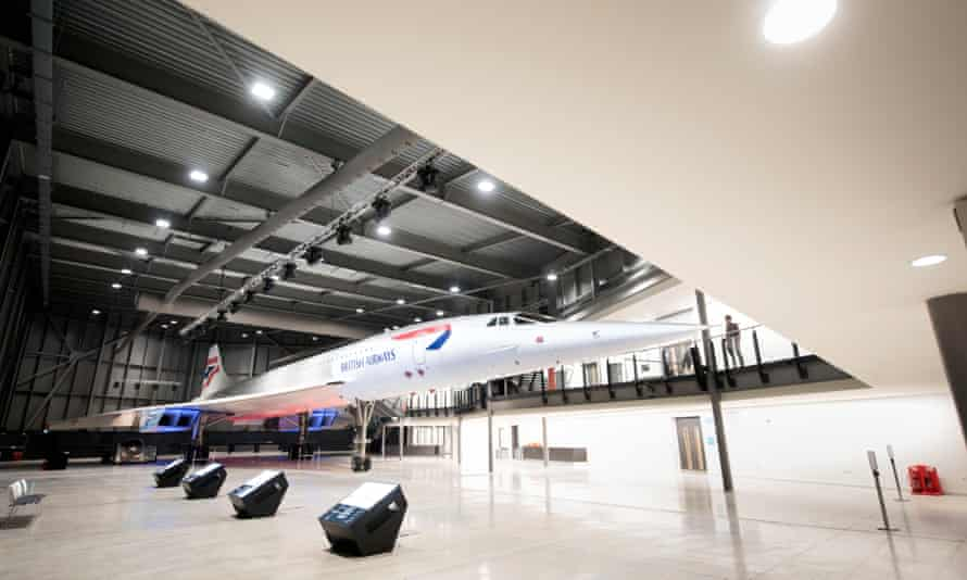 The final Concorde to be built on display at the Aerospace Bristol museum in Filton