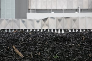 Once unloaded from the tunnels, the compost is left to mature for several weeks before being screened and refined into finished products.