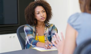 'I'm worried that to leave soon after getting a job might leave a black mark on my CV.'