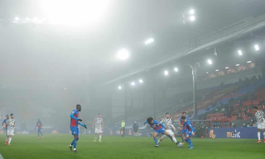 It was a misty evening at Selhurst Park.