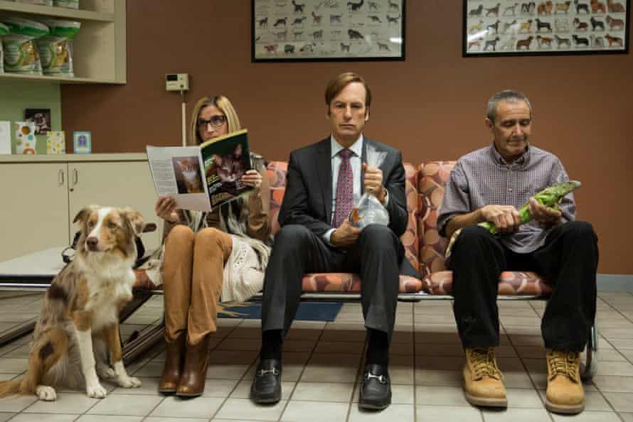 Still from Better Call Saul season three