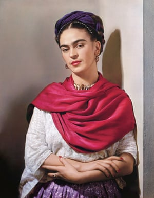 Frida with Magenta Reboza, New York 1939