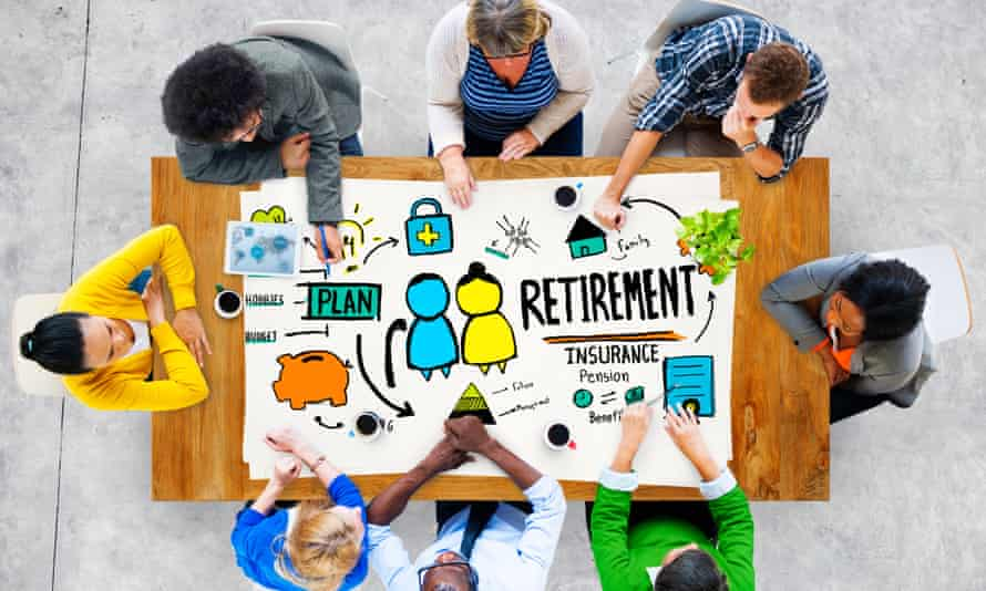 Planning ahead for retirement.