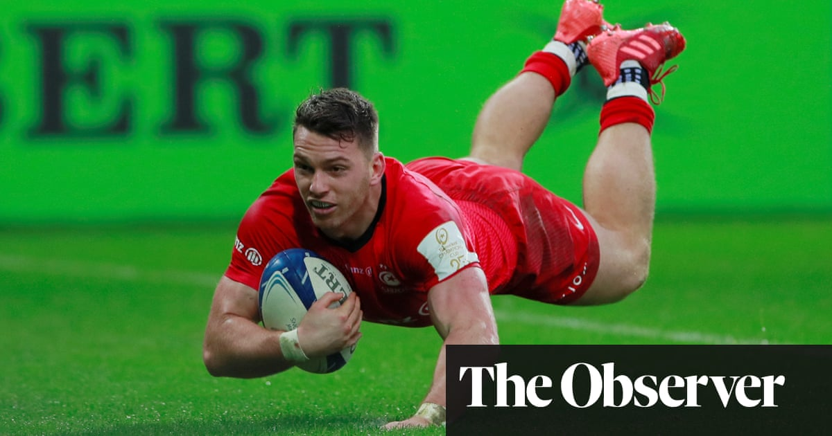 Saracens shrug off Rhys Carré red card for comeback win against Ospreys