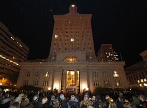 Occupy Oakland protesters