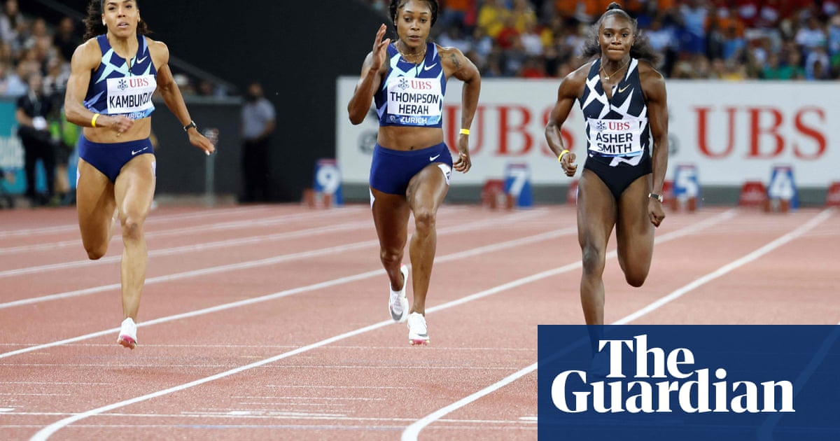 Dina Asher-Smith finds silver lining in Zurich final after Olympics heartbreak
