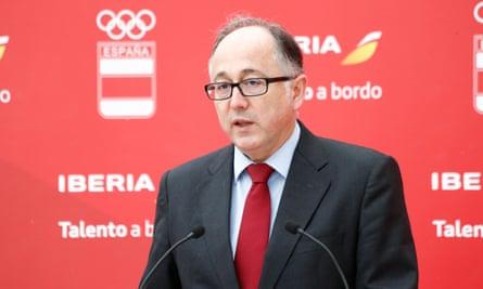 Luis Gallego of Iberia